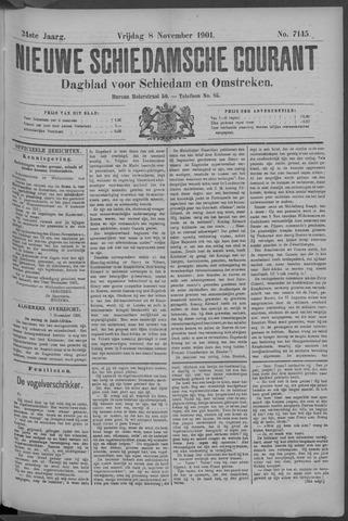 Nieuwe Schiedamsche Courant 1901-11-09