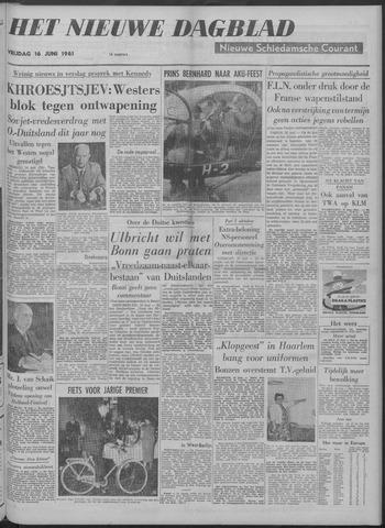 Nieuwe Schiedamsche Courant 1961-06-16