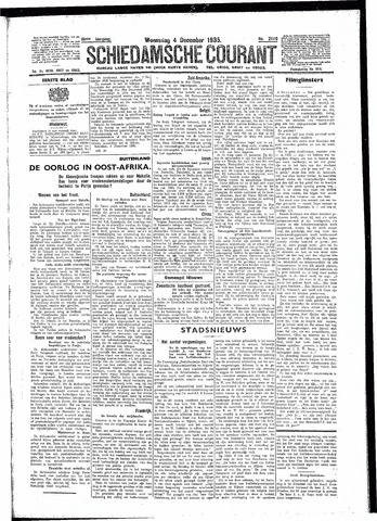 Schiedamsche Courant 1935-12-04