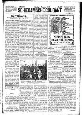 Schiedamsche Courant 1929-08-06