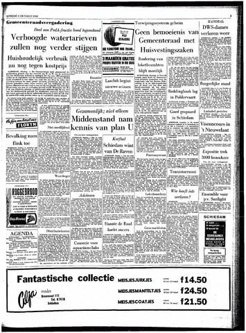 Rotterdamsch Parool / De Schiedammer 1963-10-08