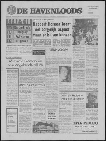 De Havenloods 1974-01-08