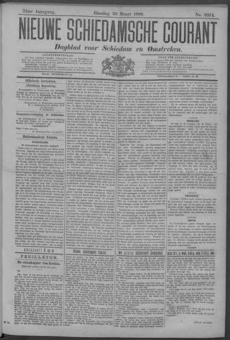 Nieuwe Schiedamsche Courant 1909-03-30