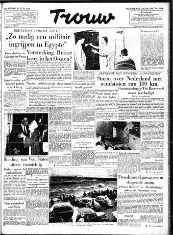 Trouw / De Rotterdammer 1956-07-30