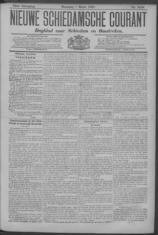 Nieuwe Schiedamsche Courant 1909-03-01