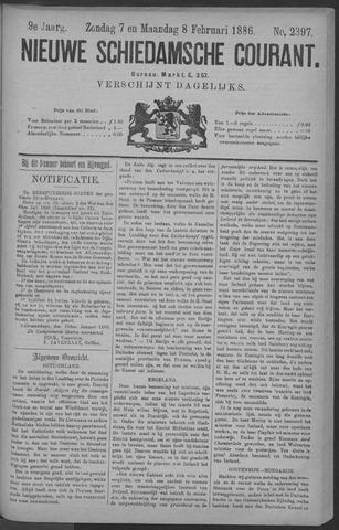 Nieuwe Schiedamsche Courant 1886-02-08