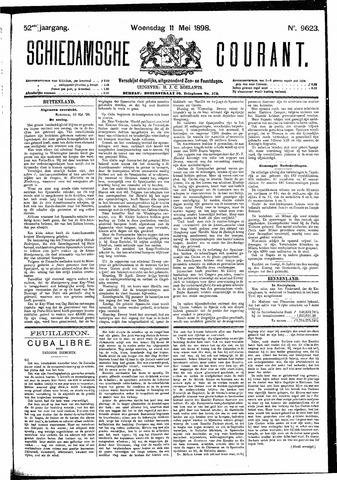 Schiedamsche Courant 1898-05-11
