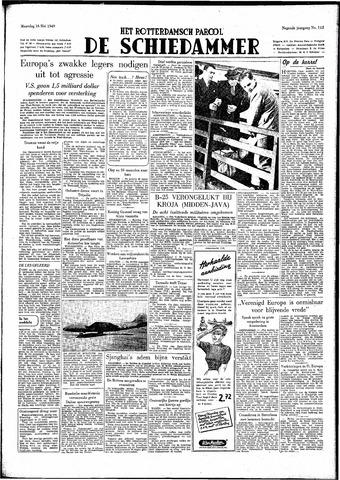 Rotterdamsch Parool / De Schiedammer 1949-05-16