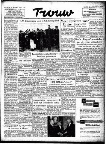 Trouw / De Rotterdammer 1953-03-24