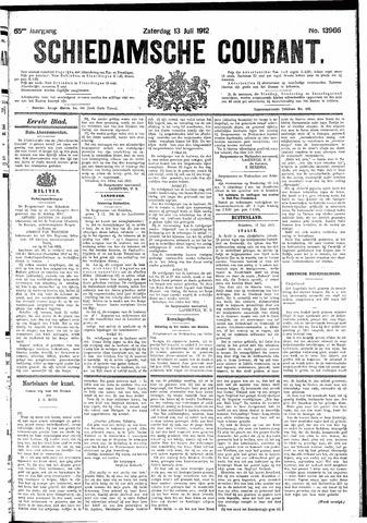 Schiedamsche Courant 1912-07-13