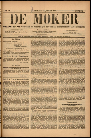 De Moker 1908-01-11