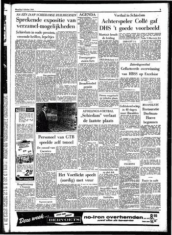 Rotterdamsch Parool / De Schiedammer 1961-10-09