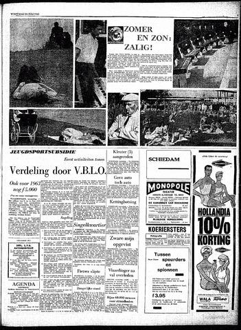Rotterdamsch Parool / De Schiedammer 1963-07-24