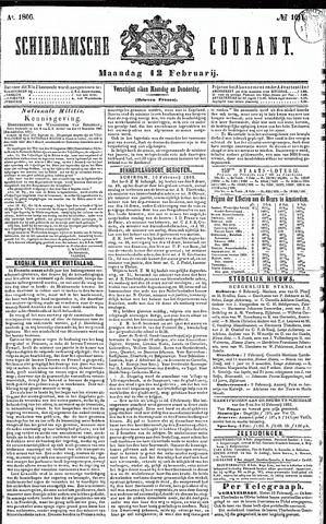 Schiedamsche Courant 1866-02-12
