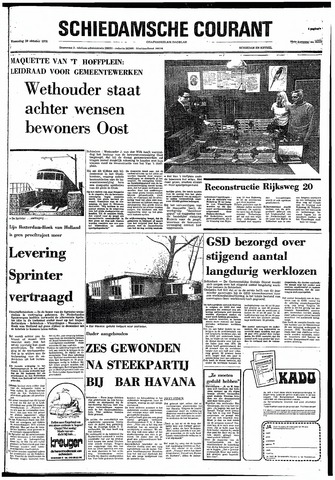 Rotterdamsch Nieuwsblad / Schiedamsche Courant / Rotterdams Dagblad / Waterweg / Algemeen Dagblad 1974-10-30