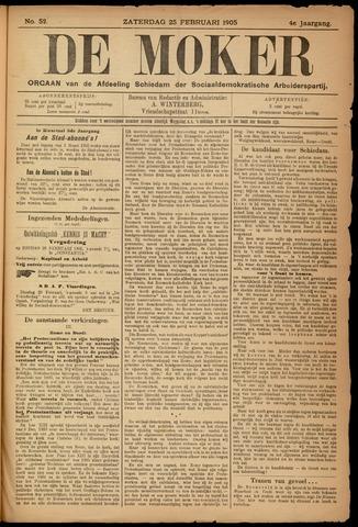 De Moker 1905-02-25