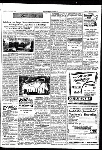 Rotterdamsch Nieuwsblad / Schiedamsche Courant / Rotterdams Dagblad / Waterweg / Algemeen Dagblad 1953-01-23