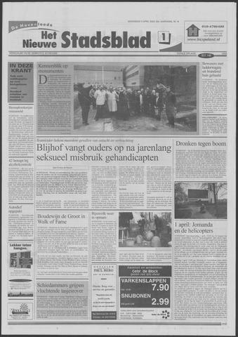 Het Nieuwe Stadsblad 2000-04-05