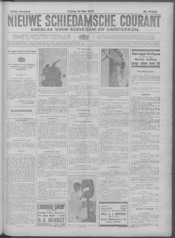 Nieuwe Schiedamsche Courant 1929-05-31