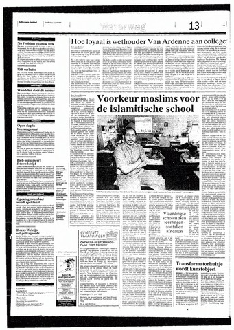 Rotterdamsch Nieuwsblad / Schiedamsche Courant / Rotterdams Dagblad / Waterweg / Algemeen Dagblad 1993-06-10
