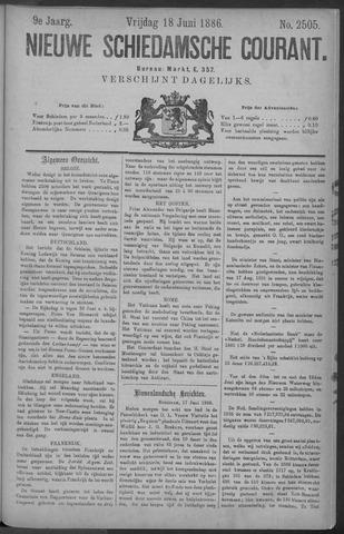 Nieuwe Schiedamsche Courant 1886-06-18