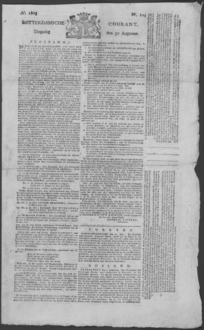 Rotterdamse Courant 1803-08-30