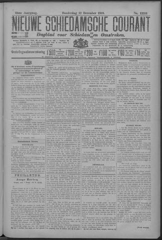 Nieuwe Schiedamsche Courant 1918-12-12