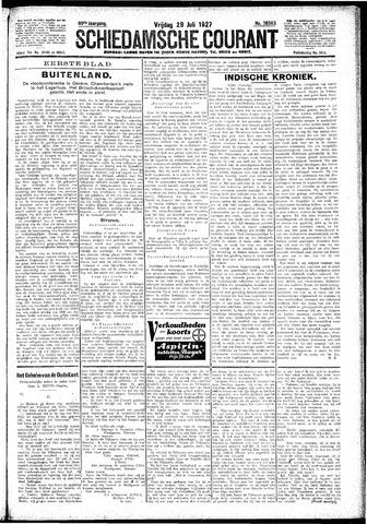 Schiedamsche Courant 1927-07-29