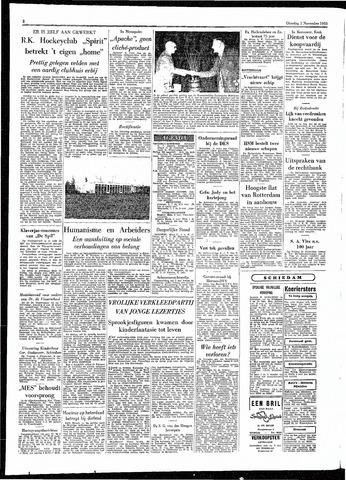 Rotterdamsch Parool / De Schiedammer 1955-11-01
