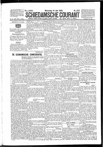 Schiedamsche Courant 1933-06-14