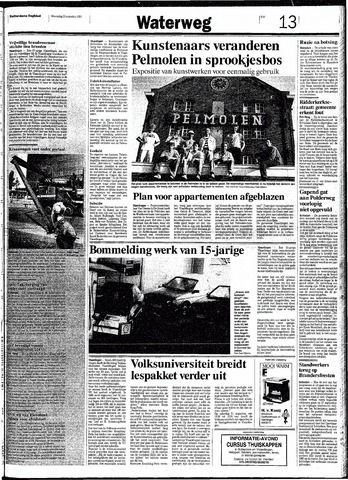 Rotterdamsch Nieuwsblad / Schiedamsche Courant / Rotterdams Dagblad / Waterweg / Algemeen Dagblad 1991-08-21