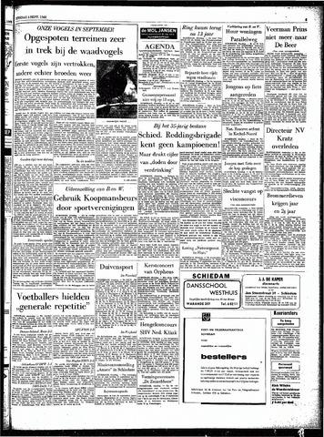 Rotterdamsch Parool / De Schiedammer 1962-09-04