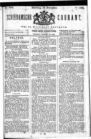 Schiedamsche Courant 1881-12-24