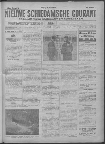 Nieuwe Schiedamsche Courant 1929-07-05