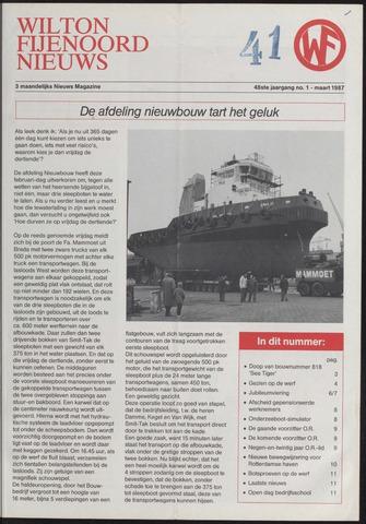 Wilton Fijenoord Nieuws 1987