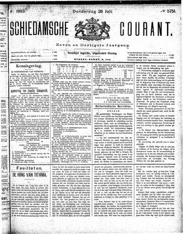 Schiedamsche Courant 1883-07-26