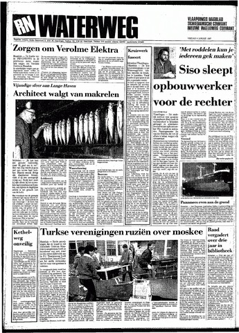 Rotterdamsch Nieuwsblad / Schiedamsche Courant / Rotterdams Dagblad / Waterweg / Algemeen Dagblad 1987-01-09