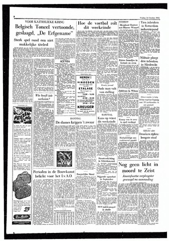 Rotterdamsch Parool / De Schiedammer 1955-10-14