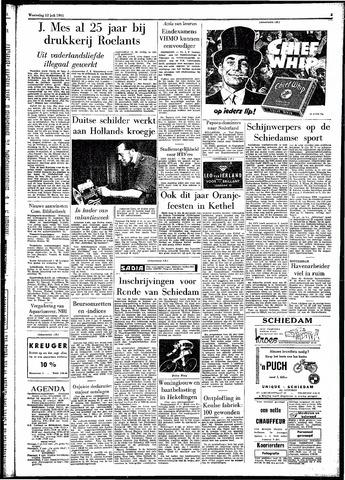 Rotterdamsch Parool / De Schiedammer 1961-07-12