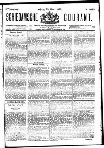 Schiedamsche Courant 1898-03-25