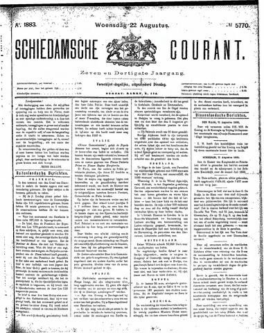 Schiedamsche Courant 1883-08-22