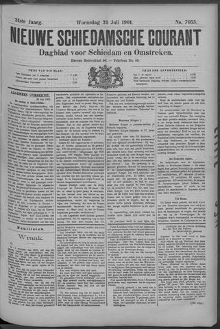 Nieuwe Schiedamsche Courant 1901-07-24