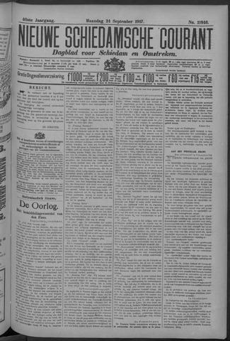 Nieuwe Schiedamsche Courant 1917-09-24