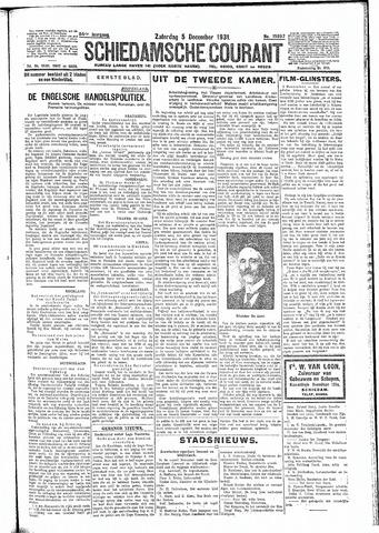 Schiedamsche Courant 1931-12-05