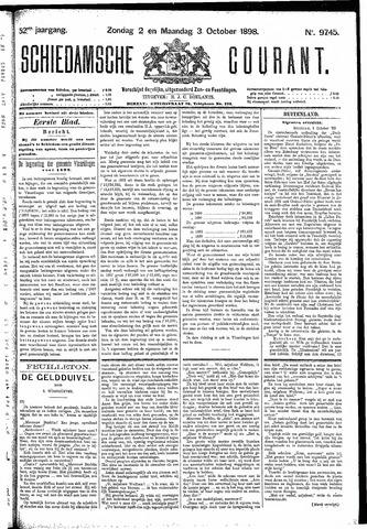 Schiedamsche Courant 1898-10-03