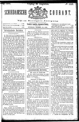Schiedamsche Courant 1881-08-26