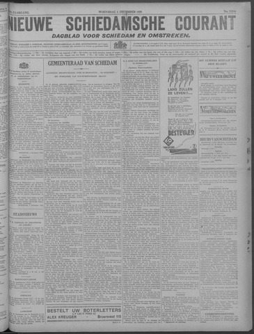 Nieuwe Schiedamsche Courant 1929-12-04