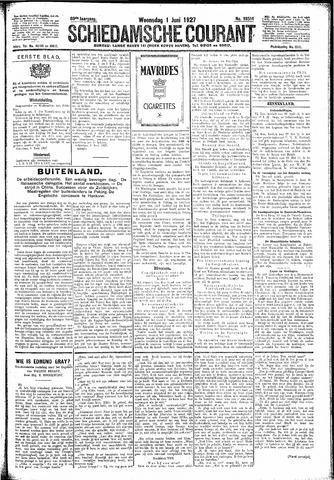 Schiedamsche Courant 1927-06-01