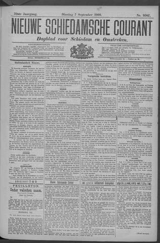 Nieuwe Schiedamsche Courant 1909-09-07