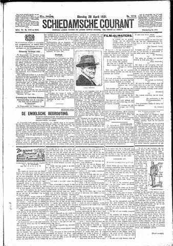 Schiedamsche Courant 1931-04-28